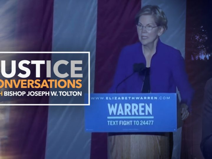 Elizabeth Warren Rally 2020- Justice Conversations
